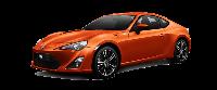 Toyota 86 - Màu cam ánh kim H8R