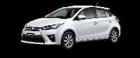 Toyota Yaris - Màu trắng 040