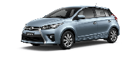 Toyota Yaris - Màu xanh nhạt 8W8